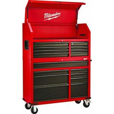 Drawer 16 Tool Chest 46 In. and Rolling Cabinet Set