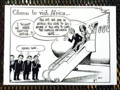 See How Obama Is Depicted in Africa's Political Cartoons   TIME