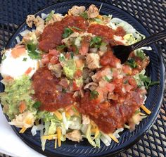 Salsa Rico - Low Carb Mexican Chicken Salad - The Low Carb Diet