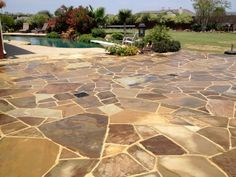 Oklahoma Flagstone Patio