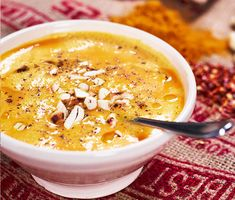 Sötpotatissoppa med curry och lime | Recept ICA.se