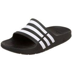 dd89a42f1419 adidas Duramo Slide Sandal (Toddler Little Kid Big Kid) adidas.  18.00