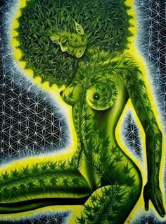 Visionary artist Alex Grey is renowned for his enlightening perspectives on life and psychedelic awareness. He believes cannabis is a gateway to love. Alex Grey, Alex Gray Art, Weed Girls, 420 Girls, Alphonse Mucha, Pablo Picasso, Marijuana Art, Medical Marijuana, Weed