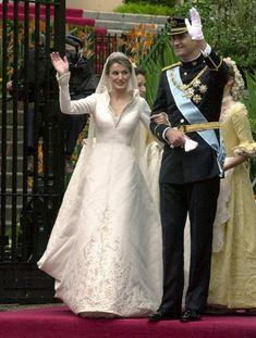 Todos los detalles del vestido nupcial de doña Letizia en su 9o aniversario