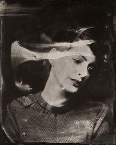 Dramáticos retratos de celebridades contemporáneas al estilo 1860  2014 Sundance TIn Type Portraits - Anne Hathaway
