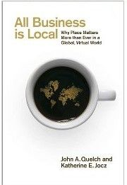 In a world where all business is global, local has never been more important. The authors examine the techniques of dozens of companies that consider place part of every strategic decision. The authors show why the best global brands are, by design, also the leading local brands.  Cote: 6-432 QUE