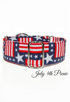 American Dog Collar USA Martingale Collar 2 or 1 by CollarTown, $18.50