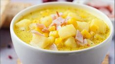 """""""This is a delicious recipe for ham and potato soup that a friend gave to me. It is very easy and the great thing about it is that you can add additional ingredients, more ham, potatoes, etc and it still turns out great."""" SUBMITTED BY: Ham Recipes, Crockpot Recipes, Soup Recipes, Cooking Recipes, Healthy Recipes, Delicious Recipes, Chili Recipes, Kitchen Recipes, Diabetic Recipes"""