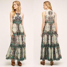 Madera Maxi Dress by Bhanuni #dress #maxidress #floraldress #womenfashion