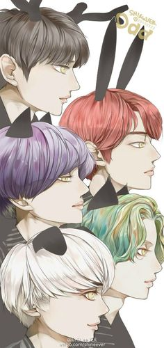 Shinee Odd Fanart  This. Is. Too. Good. Wow.