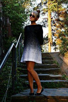 Marimekko dress! Really intriguing.