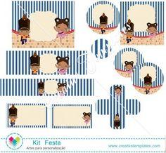Kit festa Soldadinho de Chumbo e Bailarina mod:111