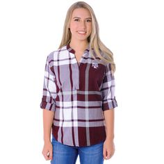 UG Apparel Relaxed Fit Plaid Tunic Size 8-10
