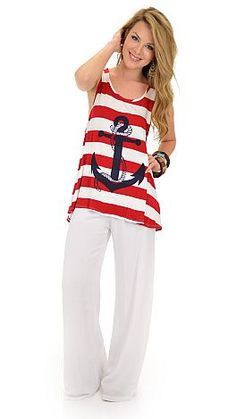 Anchor Management, Red :: NEW ARRIVALS :: The Blue Door Boutique