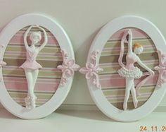 Duo de quadros-Coleção Bailarinas