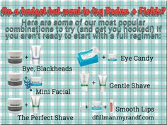 On a budget, but want to try Rodan + Fields products? Try one of our mini-regimens! Mmcdonald2.myrandf.com