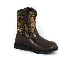 Realtree Boys Dustin Camo Synthetic Boots 12 M US Little Kid. fashion. Heel Height: 1 to 1 3/4 INCH. Made in China.