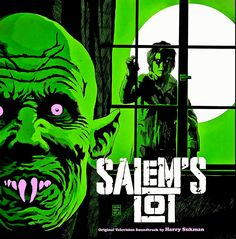 """brokehorrorfan: """"The soundtrack to Tobe Hooper's adaptation of Stephen King's Salem's Lot is now available on vinyl via Waxwork Records. The complete score, composed by Harry Sukman, has been. Horror Movie Posters, Horror Movies, Film Posters, 80s Movies, Arte Horror, Horror Art, Soundtrack, Salem Lot, Stephen King"""