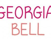 Georgia Bell font from Blastostitch