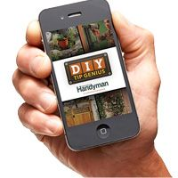 Get quick access to hundreds of practical home improvement ideas with the DIY Tip Genius app from The Family Handyman. You'll find helpful tips on storage, painting, carpentry, woodworking, plumbing, electrical, repairs and more!