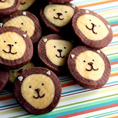 the not so simple: lion icebox cookies