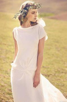 Enkel, men elegant brudekjole i silke fra Rembo Styling (3500 kr) - FINN Torget #finnfunn