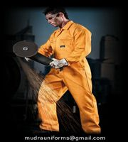 boiler suit - Industrial Uniform-Mudra Uniforms India Pvt.  Ltd. : Industrial & Worker Uniform Mudra uniforms's high performance work wear is suited for even the harshest working environments. Employing the latest developments in fabric technology and manufacturing techniques, Quality work wear in fashionable styles that delivers performance, comfort and protection at an affordable price.  boiler suit - Industrial Uniform - Mudra Uniforms India Private Limited  Work Wear, Cargo Uniform