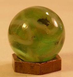 Rare Vintage 2 Seam Vitro Marble King Cats Eye Marble W