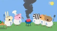 Why is the fire department always involved when daddy pig tries to have fun!!