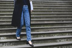 London Street Style That Just Oozes Cool #refinery29  http://www.refinery29.com/2016/02/103453/london-fashion-week-fall-winter-2016-street-style-pictures#slide-27  This pair of jeans has us seeing spots....