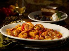 Maggiano's Restaurant Copycat Recipes: Spiced Shrimp with Polenta