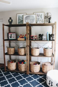 Organizing Playroom Toys - Within the Grove...