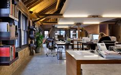 MAD Agency Attic Office, Old Street, London | DOS Architects