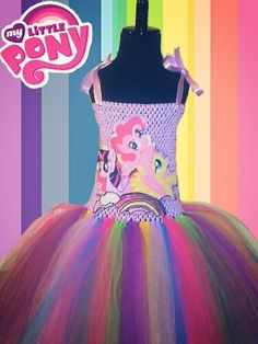 My Little Pony Dress Perfect for birthdays and photo shoots!