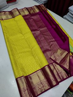 Ping me in 9171814428 for price details.. Pure kanchipuram silk sarees handwoven with 2 g pure jari exclusive bridal collection Pure Silk Sarees, Bridal Collection, Hand Weaving, Pure Products, Wedding, Fashion, Valentines Day Weddings, Moda, Hand Knitting