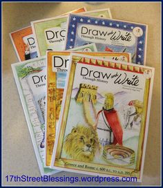 Recently, my second grader started cursive, and he loves to draw. This series is a great way to encourage both, with a fun connection to our memory work with Classical Conversations! Draw and Write...
