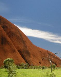 Ayers Rocks, Australia. Would love to see the Australian Outback!
