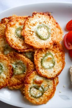 parmesan crisps plate
