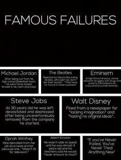 Today is Not a Failure. Just a Set Back.