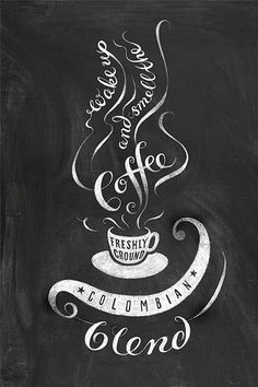 Patrick Knowles Design chalk board hand lettering illustration