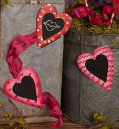 Valentine Heart Trio Magnets