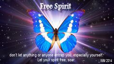set your spirit free x