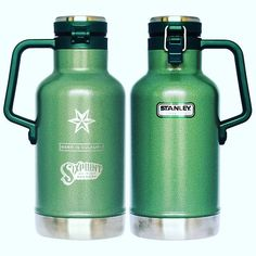 Protect ya #MadScience in these outdoor industrial @Sixpoint @stanley_brand 64oz growlers. These are so rugged you could probably run them over with your minivan... but then why would you do that to your precious beer? #growler #merchcellar #linkinbio by sixpoint