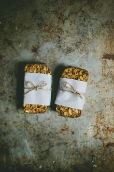 Soft Pumpkin Granola Bars | Molly Yeh