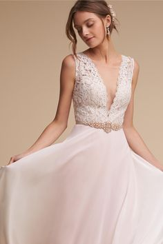 romantic gown | Taryn Gown from BHLDN
