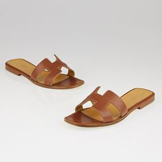 Best quality Hermes orand coffee sandals from ReplicaUnion