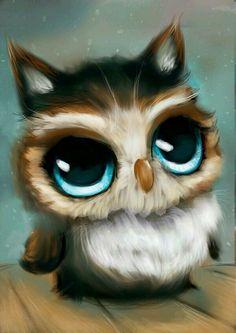 53 Mejores Imágenes De Buhos Pintados Birds Owl Art Y Drawing Owls