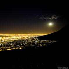 Cape Town by night #capetown #southafrica