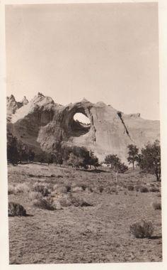 Window Rock, near Gallup, New Mexico, 1932