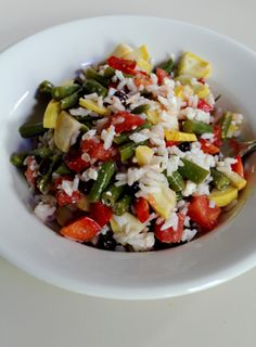 Rice dishes... on Pinterest | Rice Salad, Coconut Rice and Brown Rice ...